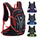 25L Backpack Waterproof Bike Outdoor Sports with Helmet Net Motorcycle Cycling Hiking Camping Fishing Travel Bag