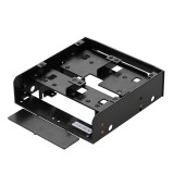 Olmaster MR-8801 2.5 Inch SSD HDD Case Hard Drive Enclosure HDD Holder Mounting Bracket for 3.5″ HDD/ 2.5″ HDD/SSD
