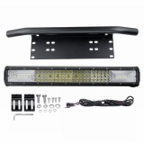"20"" Inch Quad-row LED Work Light Bar Combo Offroad Driving Lamp Car Truck Boat 116Led DC10-30V 1160W Waterproof"