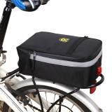 B-soul Bike Luggage Bag Multi-purpose Waterproof Bike Bag Bicycle Rear Rack Seat Saddle Bag With Bike Tail Light