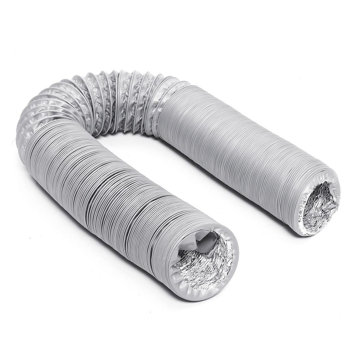 1.5/3/6M 80MM Flexible Air Conditioner Spare Parts Exhaust Pipe Vent Hose Outlet