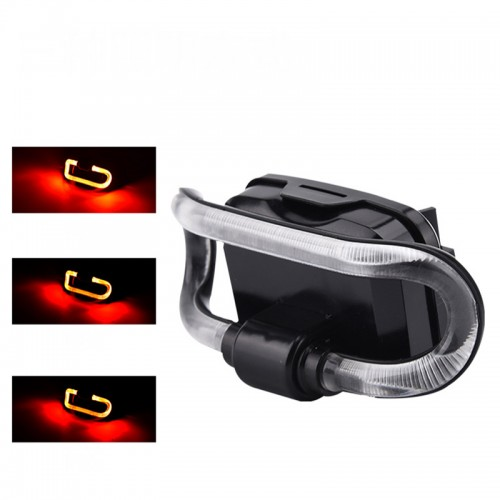 XANES TL36 200M 3Modes Waterproof LED Bike Tail Light Bicycle Taillights Outdoor Riding Warning Lights