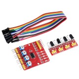 4CH Channel Infrared Tracing Module Patrol Four-way Sensor For Car Robot Obstacle Avoidance