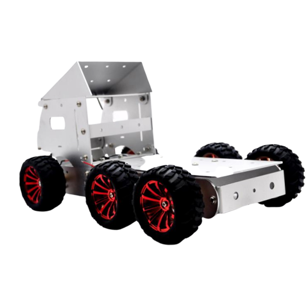 DIY Aluminous Smart RC Robot Car Truck Chassis Base With Motor