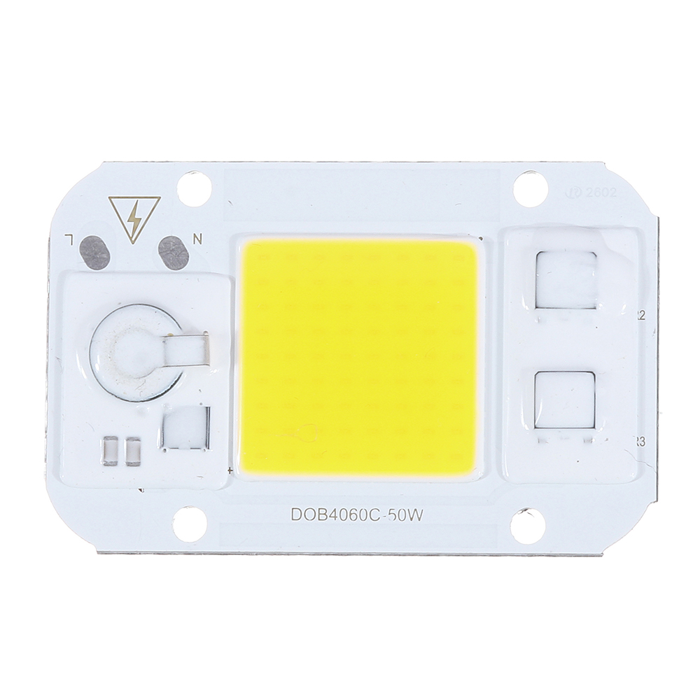 AC220-240V 30W DIY COB LED Light Chip Bulb Bead 62x40mm For Flood Light