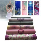 KALOAD 1.5mm Nature Rubber Yoga Mat Exercise Gym Towerl Fitness Mats