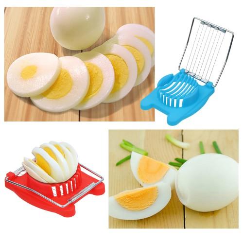 1PC Stainless Steel Cut Egg Slicer Sectioner Cutter Mold Multifunction Eggs Splitter Cutter Kitchen Tools Egg Tool