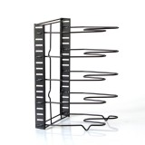 8 Layers Pot Organizer Rack Cabinet Storage Rack Lid Pan Holder Kitchen Countertop