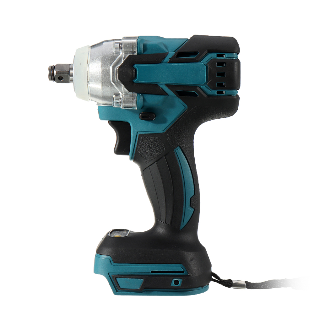 18V 520N.m Cordless Brushless Impact Wrench Stepless Speed Change Switch Adapted To 18V Makita battery