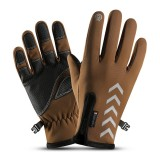Wind-stoper Gloves Anti-slip Windproof Thermal Warm Touchscreen Breathable Skiing Gloves