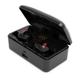 G10 TWS bluetooth 5.0 9D Stereo Earphone Wireless IPX7 Waterproof LED Display Headphones Smart Power Bank Phone Holder