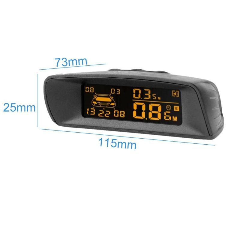 A10 Universial Visible Full Digital Distance Display Reversing Radar LCD Car Parking Sensor Monitor