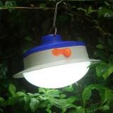 Portable Solar Panel Power LED Light Sensor Camping Lantern Outdoor Tent Fishing Hanging Emergency Lamp