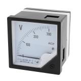 6C2 DC Volt Meter 10V 30V 50V Panel Analog Voltmeter Voltage Meter Electric Meters 80*80mm