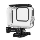 PULUZ PU353 60M Underwater Depth Diving Case Waterproof Camera Protective Case for GoPro HERO 8 Black