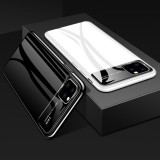 Bakeey Luxury Plating Mirror Tempered Glass Protective Case for iPhone 11 Pro Max 6.5 inch