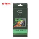 12/24/36/48/72 Colors Oil Colored Pencils Set Artist Painting Sketching Wooden Color Pencil School Art Supplies
