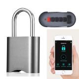 Smart bluetooth Password Lock Phone APP Waterproof Anti-theft Padlock Remote Authorization Keyless Door Lock