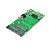 ITHOO ENCMS2S-N02 SATA 22PIN to mSATA Interface mSATA SSD PCI-E Expansion Card 6Gbps for Desktop Computer