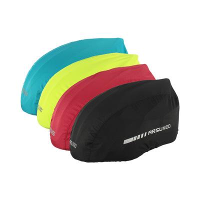 ARSUXEO PC08 Outdoor Waterproof Dustproof Windproof Cycling Helmet Cover Men Bicycle Helmet Cover Motorcycle Helmet Cover