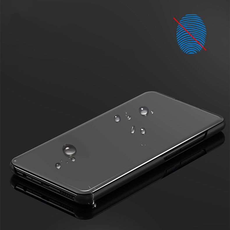 Bakeey Plating Mirror Window Shockproof Flip Full Cover Protective Case for Xiaomi Redmi Note 8 Pro
