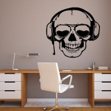 Miico FX3003 Cartoon Sticker Wall Sticker Halloween Sticker Removable Wall Sticker Room Decoration – Skull