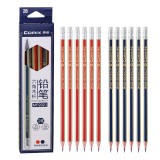 Comix MP2020 12 Pcs Wood Hexagon Pencils HB Students Pencil with Eraser Head Office School Supplies Stationery