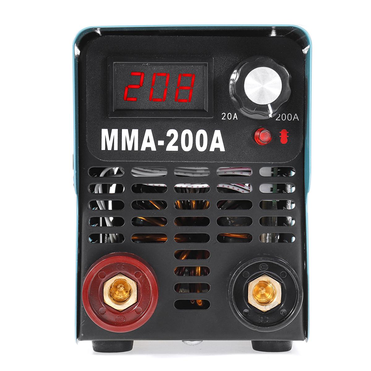 ZX7/MMA/ARC-200 4000W IGBT 220V Mini Welder ARC Welding Machine LED Display Hand Hold Inverter