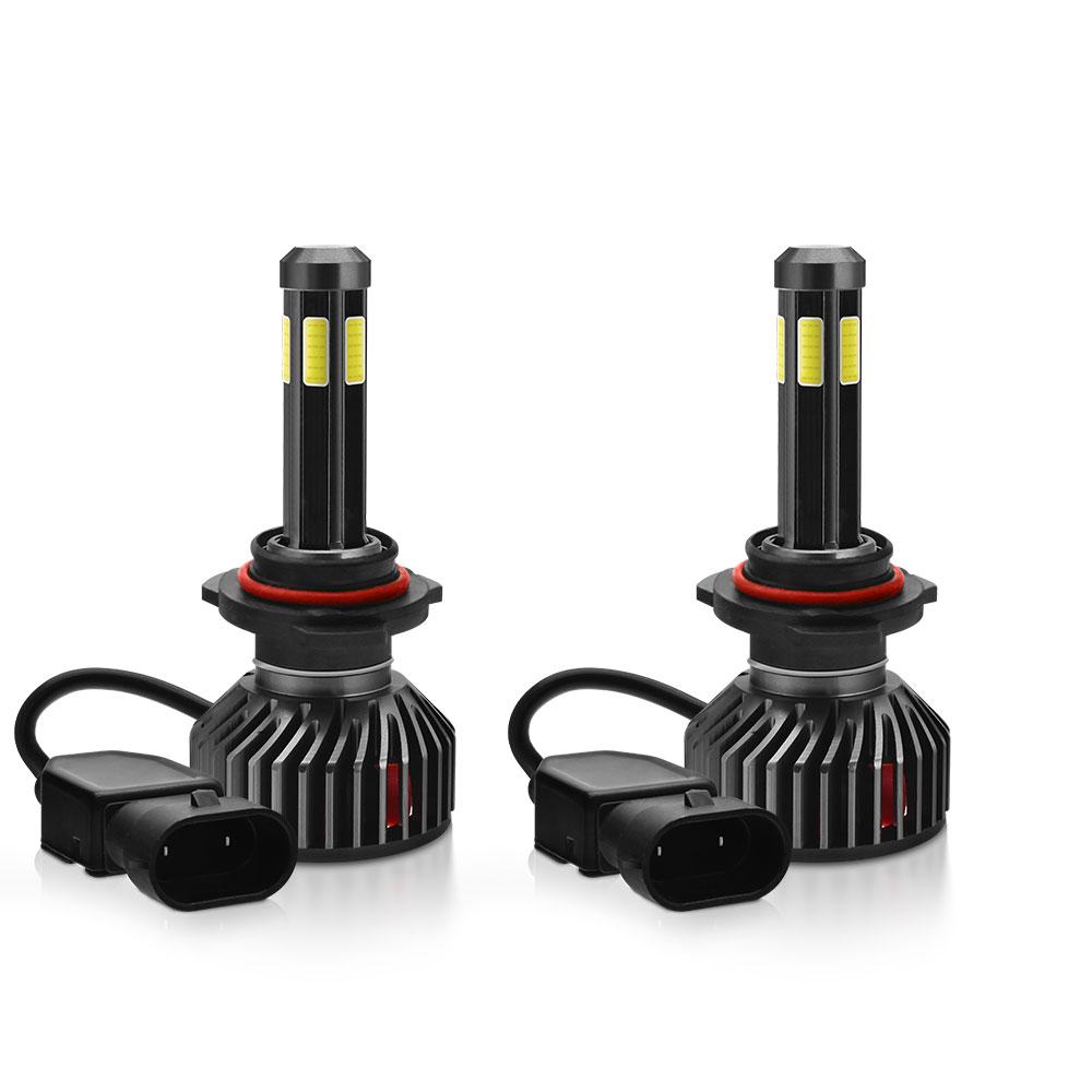 F2 COB LED Car Headlights 9005 9006 H4 H7 H11 H1 Bulbs Fog Lamps 55W 6500LM 6500K 2PCS