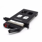 Olmaster Hard Drive Enclosure HDD Case Metal Structure HDD Enclosure 6Gbps For 7 to 9.5mm 2.5 Inch SATA SSD Hard Drive