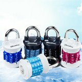Digit/Letters Combination Password Lock Alloy Steel Security Padlock Cabinet Luggage Coded Lock