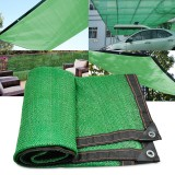Sun Shade Sail Awning Cover Outdoor Garden Canopy 6 Stitches 80% Sunshade Green Net