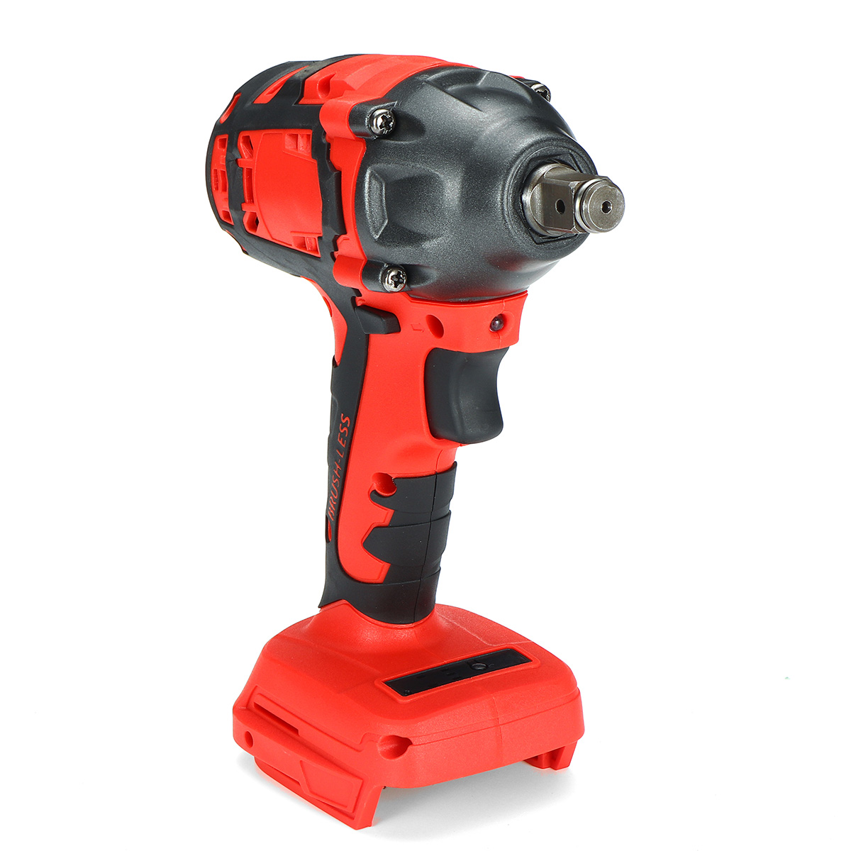 18V 520N.m. Li-Ion Cordless Impact Brushless Wrench Driver 1/2Inch Electric Wrench Replacement for Makita Battery