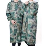 Waterproof Long Hooded Rainsuit Rain Coat Anti-UV Raincoat With Hat