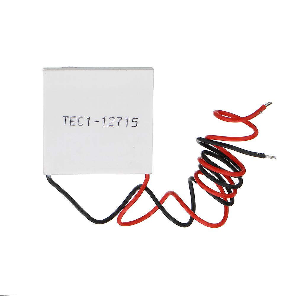 ZTSHBK TEC1-12715 Thermoelectric Cooler Peltier 40 40MM 12V Peltier Refrigeration Module Semiconductor Refrigeration Sheet 3pcs