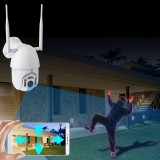 HD 1080P Wifi IP Camera Infrared Night Vision IP66 Waterproof Outdoor 355 PTZ Rotation Home Security Monitor Camera