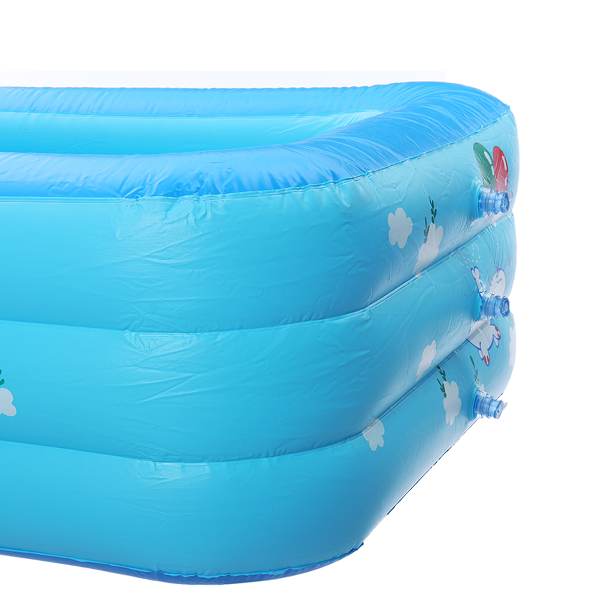 130CM/150CM Inflatable Swimming Pool Outdoor Summer Family Bathing Pool Kids Fun Play Water Pool