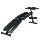Double Folding Ab Sit-ups Abdominal Muscle Trainer Board Exercise Tools Home Gym Fitness Equipment