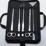 5pcs/set Aquarium Maintenance Tools Kit Tweezers Scissors For Live Plants Grass Aquario Accessory Fish Aquatic Pet Supplies