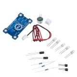 Voice Control 5MM Green LED Melody Light Electronic Production Kit DIY Fun Production Parts