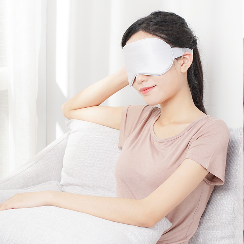XIAODA Heating Compress Eye Mask Adjustable Temperature Reusable Natural Silk Sleep Mask Warm Massage Relieve Eye Fatigue Dry Eye from Xiaomi Ecosystem