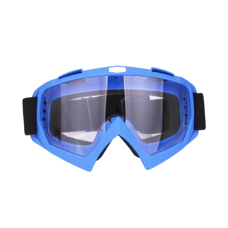 Skiing Goggles Snowboard Ski Eyewear Anti-UV Glasses For Motorcycle Motocross Transparent Lens