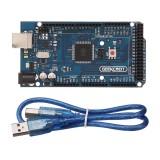 2Pcs Geekcreit? MEGA 2560 R3 ATmega2560 MEGA2560 Development Board With USB Cable For