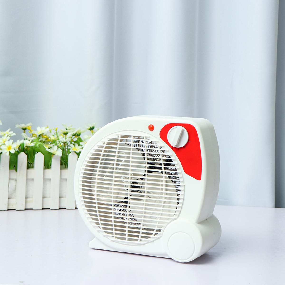 Christmas Cute Mini Electric Heaters Portable Three Heating Settings Air Heating Space Noiseless Winter Warmer 500W Heater