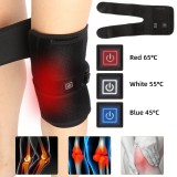 USB Heated Knee Pad Electric Warm Therapy Leg Wrap Belt Brace Arthritis Pain Relief