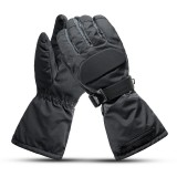 65C Waterproof Electric Heating Gloves Touch Screen Heated Motorcycle Winter Warm Outdoor Skiing Hand Warmer
