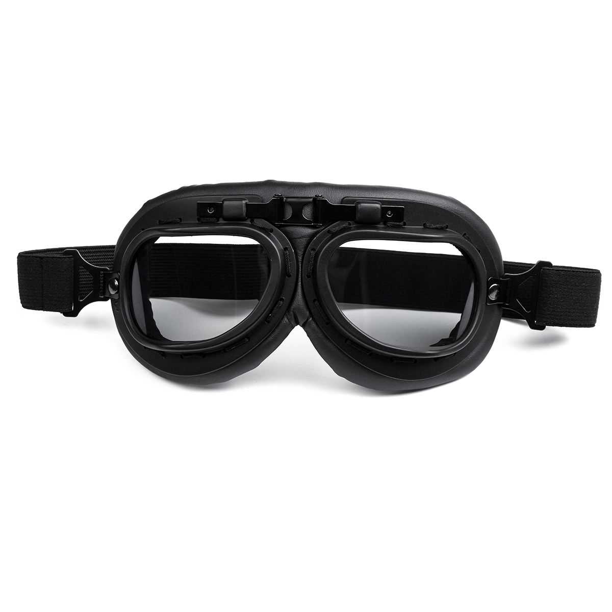 Windproof Vintage Helmet Goggles Motorcycle Scooter ATV Cycling Riding Eyewear Glasses