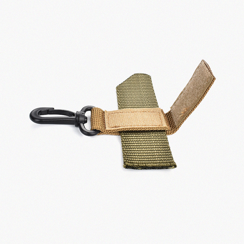 360 Rotatable Tactical Belts Buckle Outdoor Climbing Buckle Key Ring