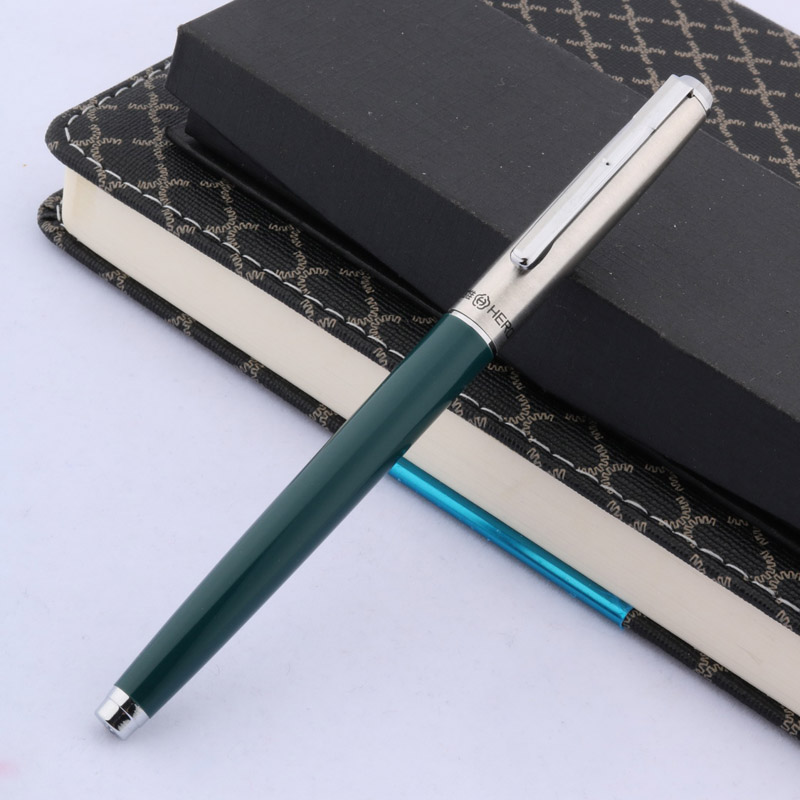 Hero 007 Fountain Pen 0.5mm F Nib Calligraphy Writing Signing Ink Pens Gifts for Students Friends Families