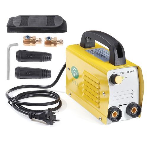 ZX7-250 MiniGB 220V 250A Electric Welding Machine IGBT Inverter ARC MMA Welder for Welding Working Power Tool EU Plug